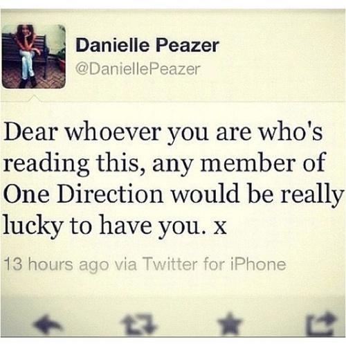 Dani, you just made my day.