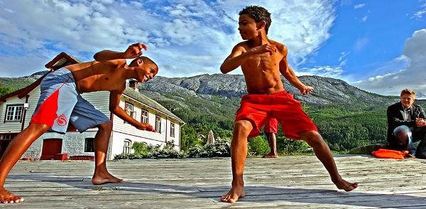 L'UNICEF aiuta i bambini con la Capoeira