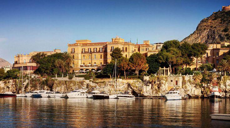 Grand Hotel Villa Igiea in Palermo | Splendia - http://pinterest.com/splendia/ stay here through this website