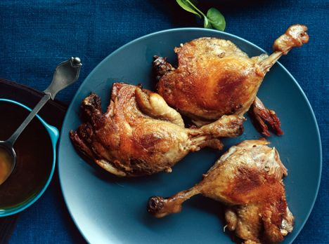 Duck confit - LOVE it, but have yet to attempt it....