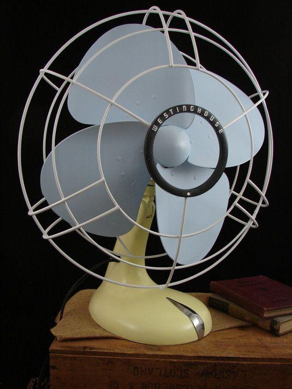 Midcentury Westinghouse Fan
