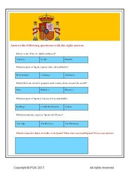Need some #ThursdayThoughts?Use this Spanish culture quiz in class. Let your students investigate and discover Spanish culture!