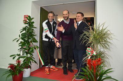 Inaugurazione nuova palestra dellAssociazione Boxe Parma 1933 al palazzetto dello sport di via Pellico.