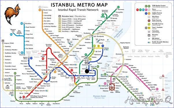 Istanbul Metro Map - http://holidaymapq.com/istanbul-metro-map-2.html