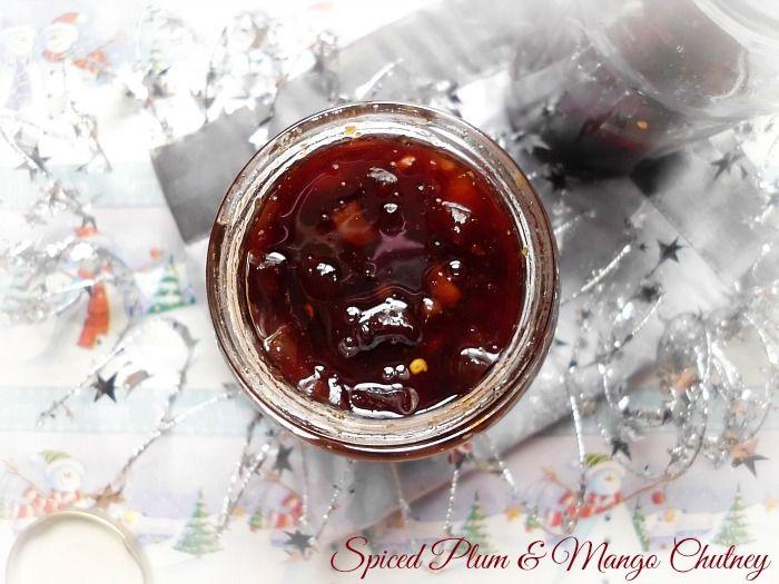 Spiced Plum and Mango Chutney