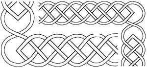 "Free Printable Celtic Stencil Patterns | Round Knot Celtic Stencils $10.99US 2½"" & 3"" Celtic Borders, (8"" x 18 ..."