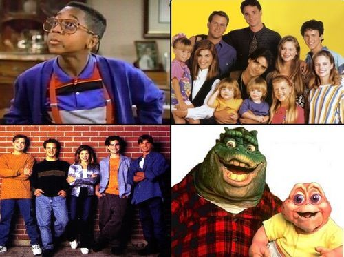 TGIF!  Loved all these shows when I was a kid!!