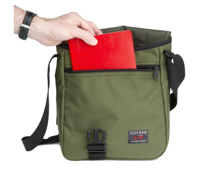 Medium Cafe Bag - EDC Vertical Messenger Bag - TOM BIHN