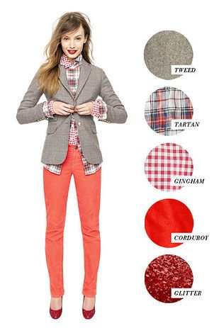 And how to mix patterns and textures. | 41 Insanely Helpful Style Charts Every Woman Needs Right Now