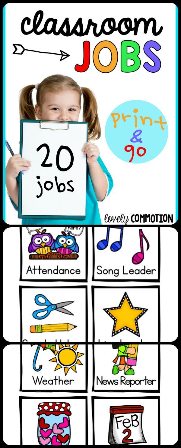 Giving every child in your class a job everyday is not as hard as it sounds!  This Preschool Classroom Jobs resource will give you all the resources you need!