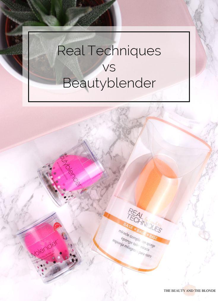 Real Techniques vs Beautyblender Thumbnail