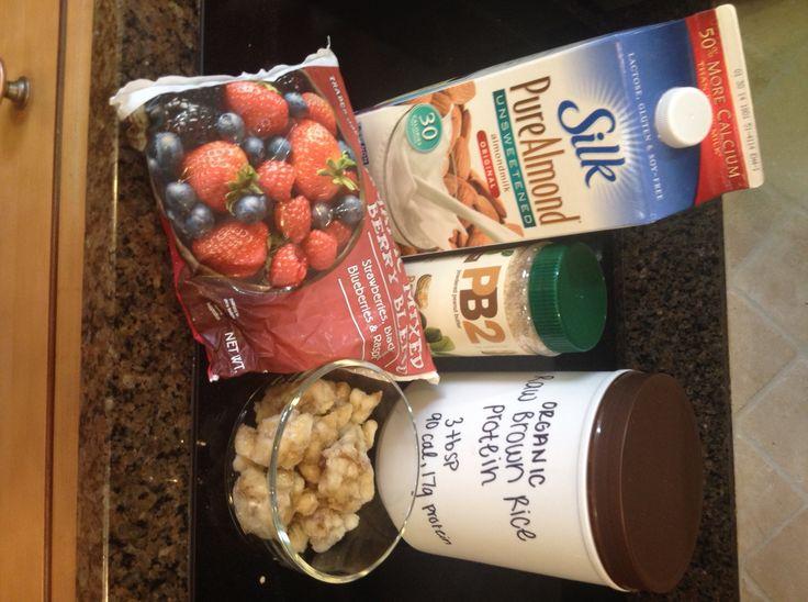 PBJ Smoothie (Dairy-Free, Gluten-Free, Vegan)