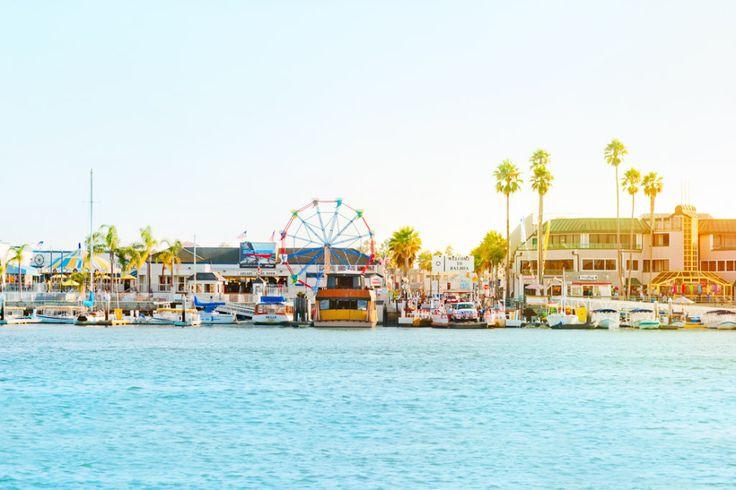 The Balboa Fun Zone in Newport Beach, where I go when ever I c my grandma...magical♡ahhhhhhh