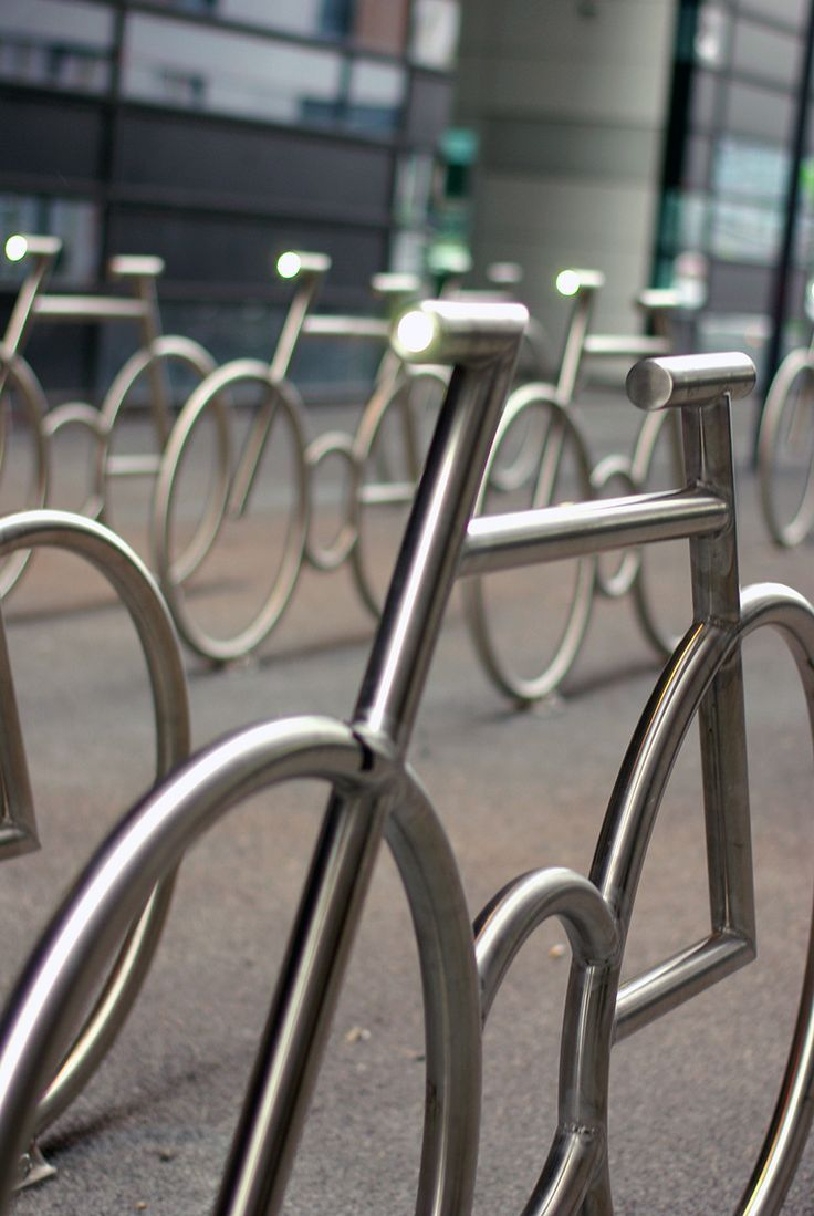 Mad arkitekter mad peleton bicycle stands inspires me to collect old bikes to make