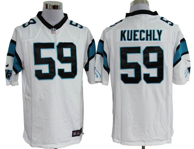 Nike Carolina Panthers 59 Kuechly Black Elite Nike NFL Jersey ...