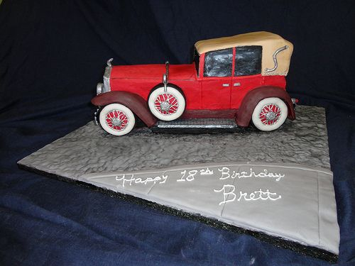 Best Car Cakes Toppers Images On Pinterest Car Cakes Cakes