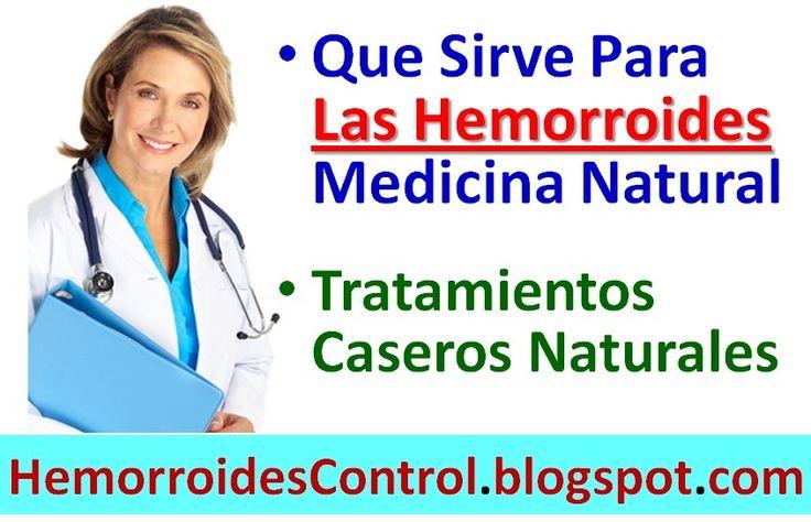 La búsqueda de una cura natural para las hemorroides externas e internas