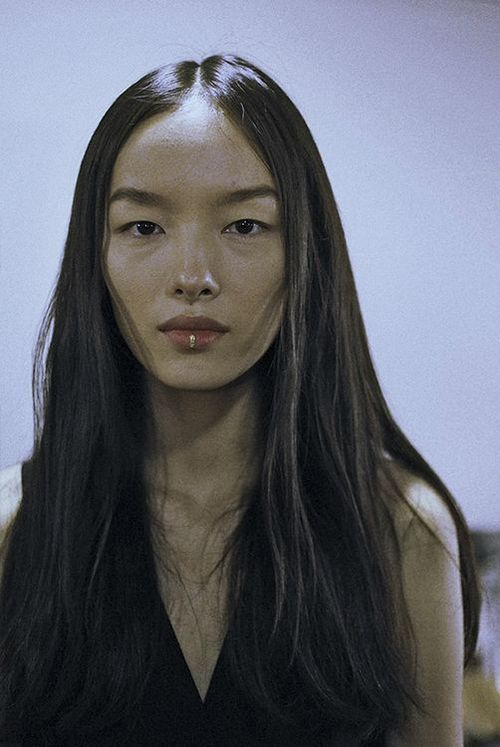 Fei Fei Sun at Dries Van Noten SS15 backstage