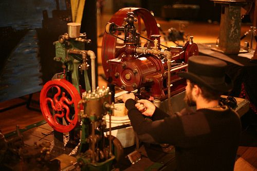 Collective dedicated to restoring steam engines