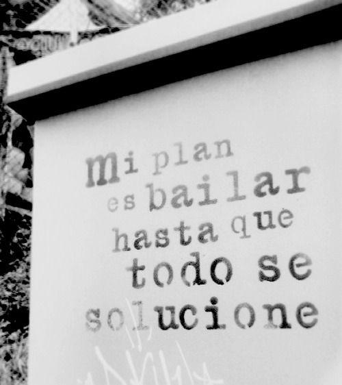 #Bailar hasta que TODO se solucione... al pie de la letra