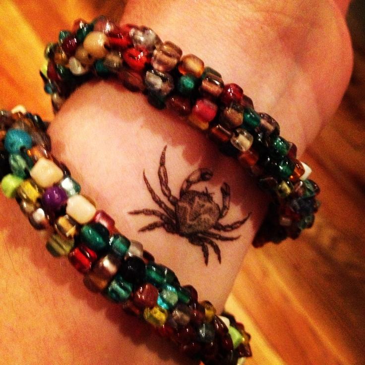 #crab #temporarytattoo #tattoo www.loveinkboutique.com