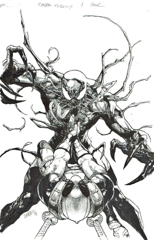 Deadpool Vs Carnage Leinil Francis