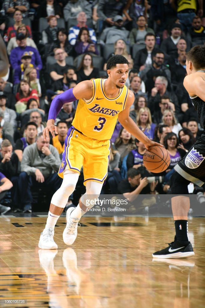 Josh Hart Of The Los Angeles Lakers Handles The Ball Against The Los Angeles Lakers Lakers Sacramento Kings