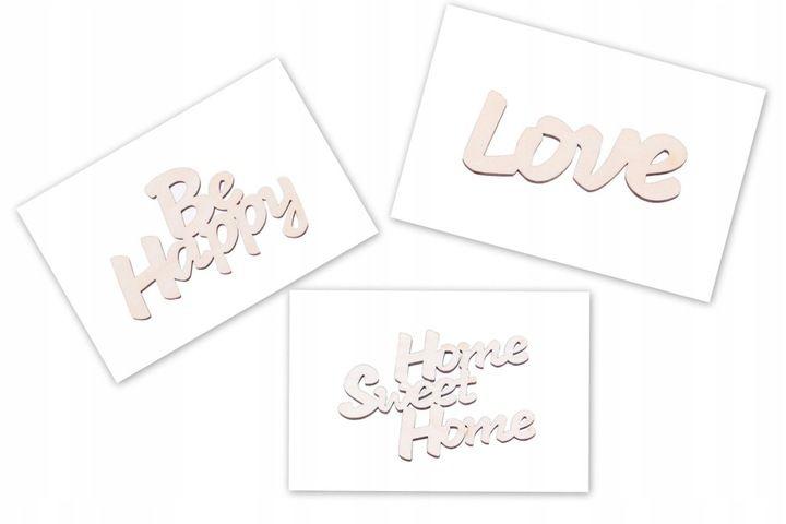 Napis Sklejka 100x65 Decoupage Slubuje Ci Milosc 7567425788 Oficjalne Archiwum Allegro Love Home Cards