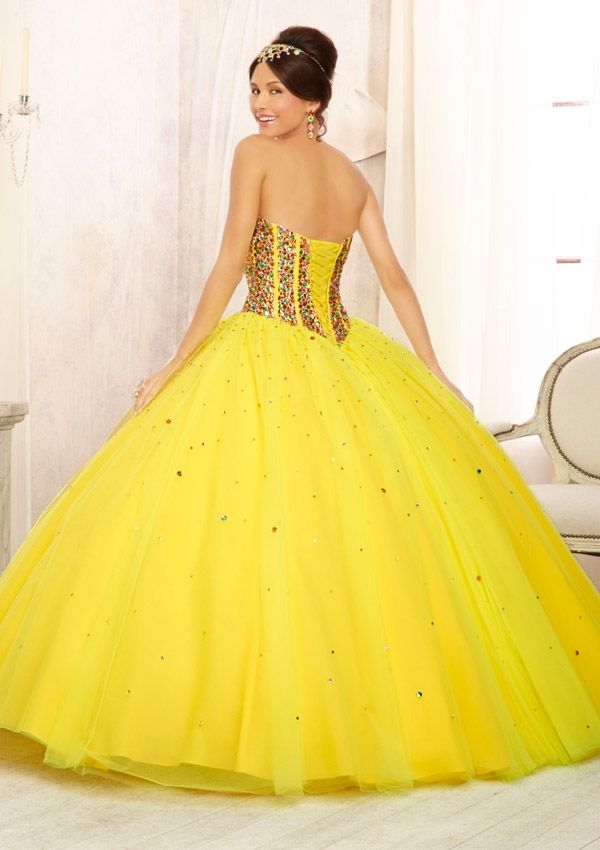 19 best images about Yellow Quinceanera Dresses | Vestidos de ...