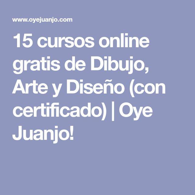 15 cursos online gratis de Dibujo, Arte y Diseño (con certificado) | Oye Juanjo!