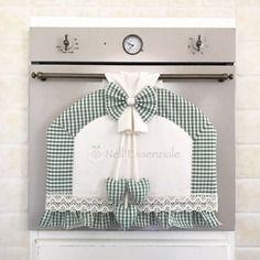 Copri forno per forno con maniglia stretta