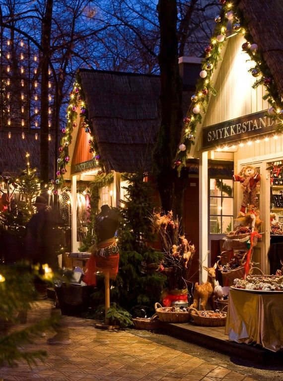 Best German Christmas Markets: Tivoli at Christmas, Copenhagen, Denmark