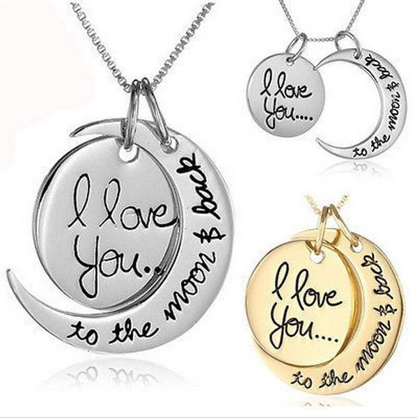 Ketting  I Love You To the Moon and Back