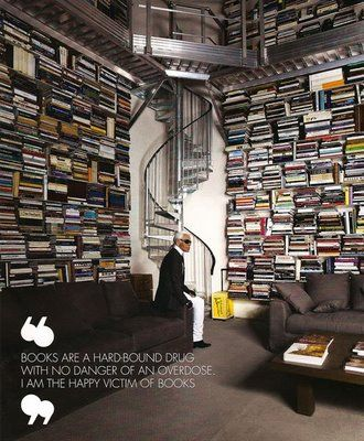 I want a personal library like this one day.