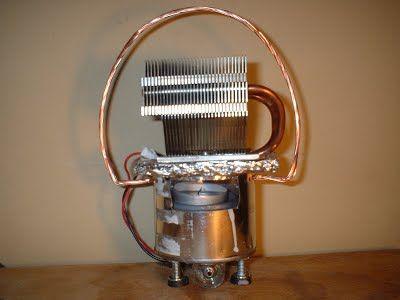 Free thermoelectric generator plans. TEG generator. Original design.