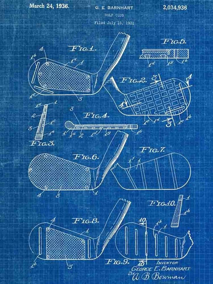 Golf Club US Patent Office