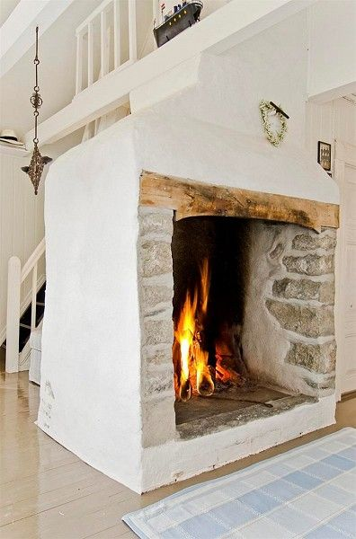 stunning fireplace