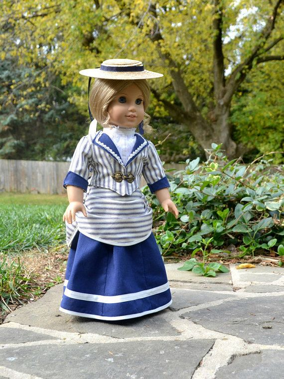 Doll Dress Victorian Bustle for American Girl by PemberleyThreads $94.50