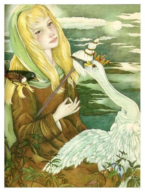 Los cisnes salvajes-The Fairy Tale Book-Adrienne Segur