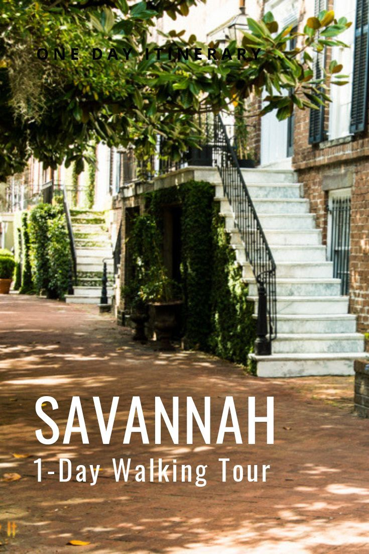 One Day In Savannah Squares And Walking Tours Savannah Chat Family Travel Destinations Best States To Visit