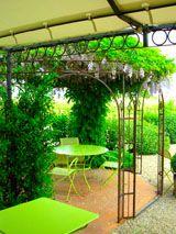 Terrasse - Restaurant les Marronniers Montagne