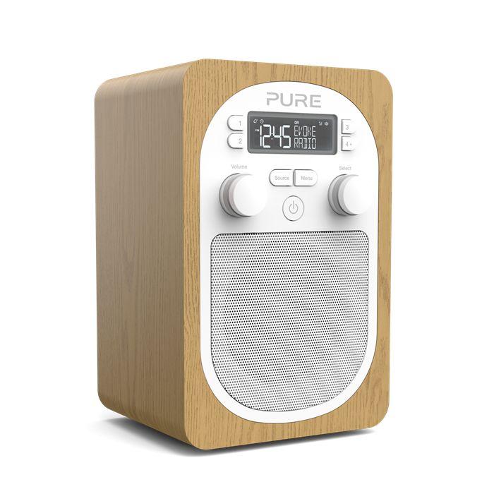 Pure Radio Numérique Evoke H2 Bois à 129,90 EUR sur lick.fr