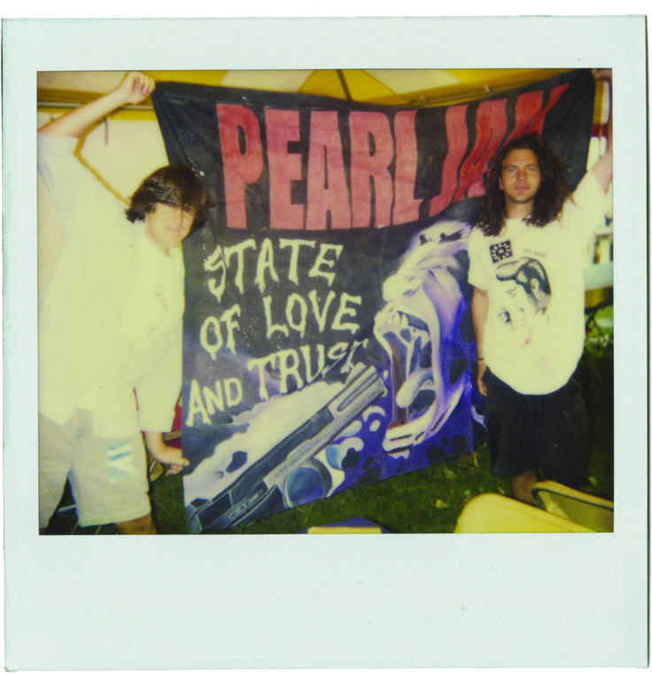 "Cameron Crowe and Eddie Vedder.  I literally could not be more excited to see this documentary.  ""Pearl Jam Twenty"""