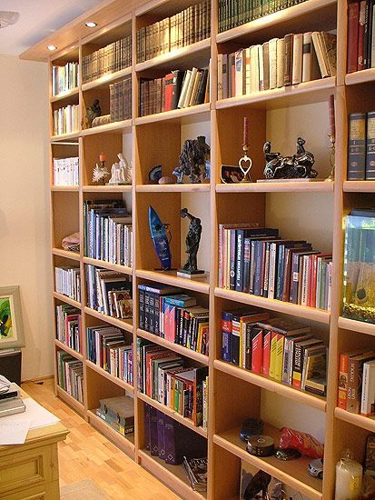 Full Wall Bookshelf Bookshelf Styling Wall Bookshelves Library
