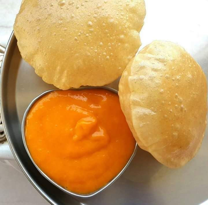 Can there be an Indian summer without aamras Puri!.aamras is mango pulp…