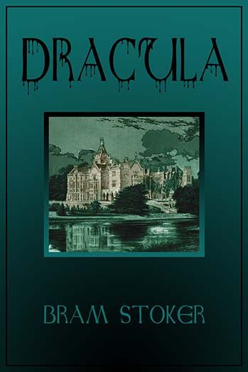 Book cover for the popular gothic tale by Bram Stoker.