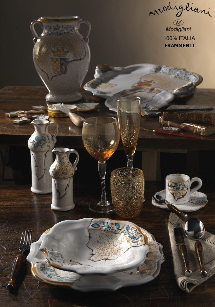 Modigliani Italian Ceramic, majolica, frammenti,roma,ceramiche italiane,liste di nozze,via condotti,roma,lista dei regali, ceramica italiana