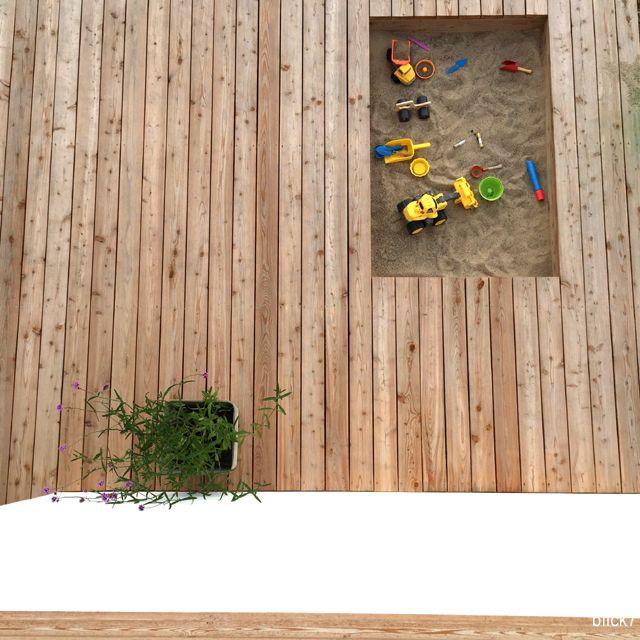 Ein Sandkasten in der Terrasse [mini-Montag] - blick7