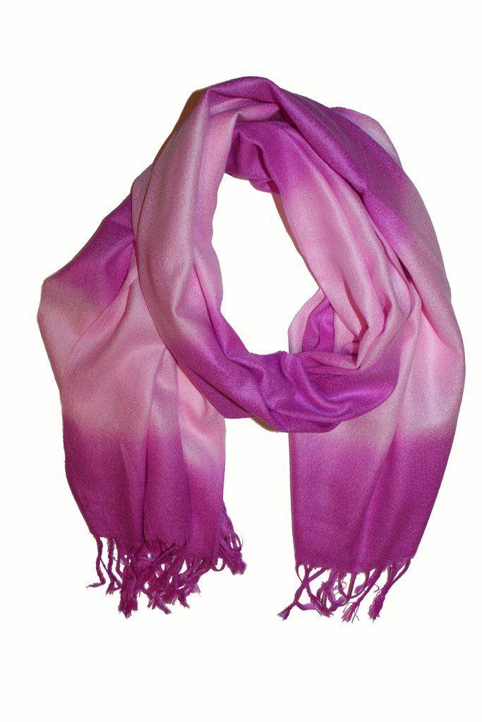 Cashmere Scarf Classic Purple 3 G