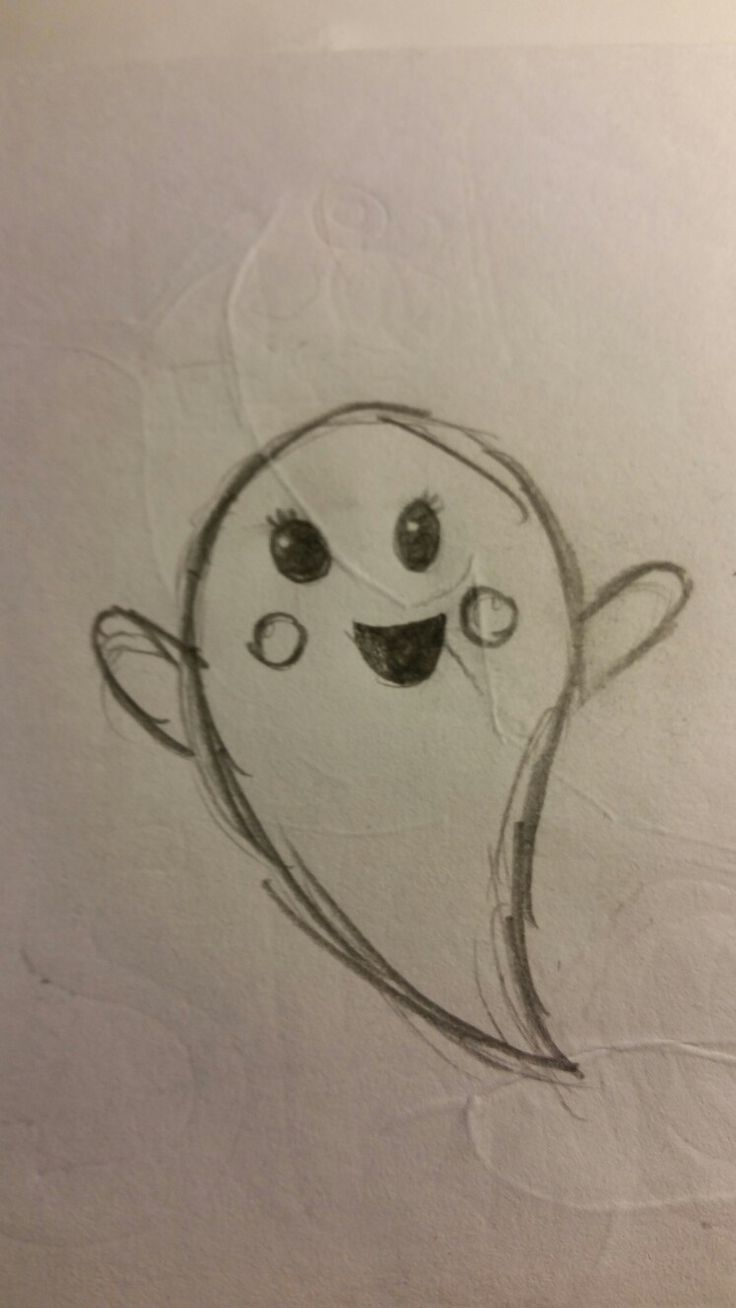 A cute little ghost